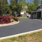 Driveway Seal Coated